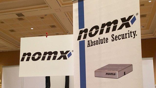 Nomx trade stand