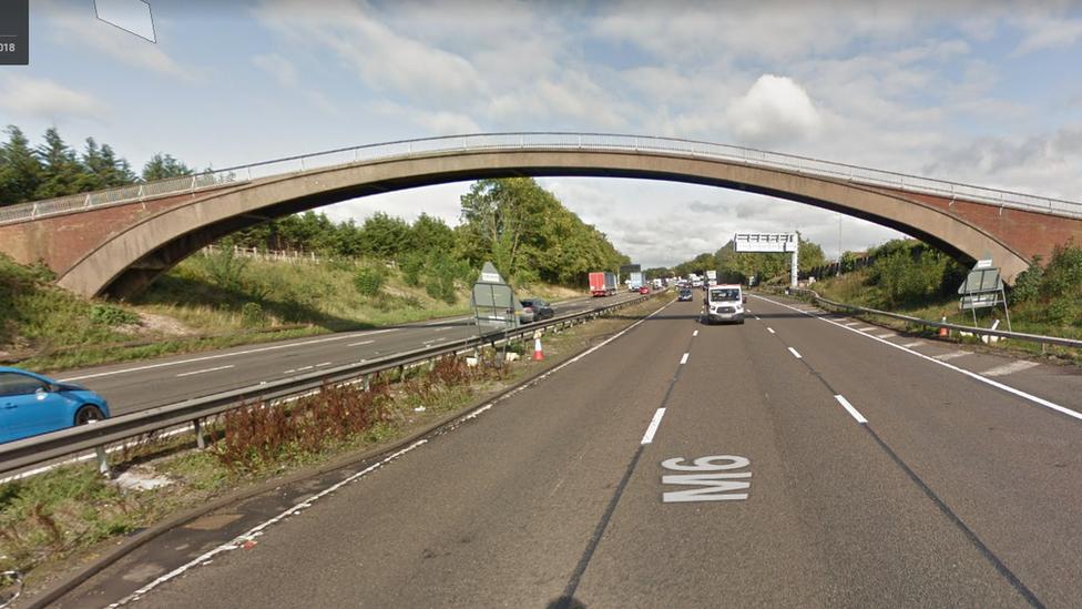 M6 in Staffordshire to close for bridge removal