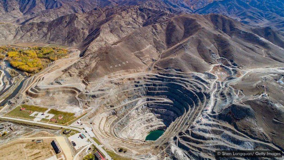 Şincan granit madeni