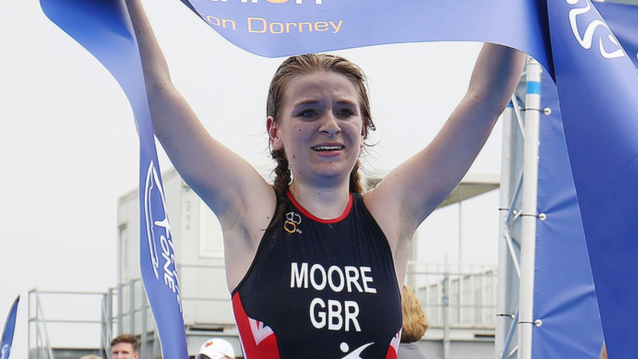 GB's Moore wins Para-triathlon European gold - two years after paying for own leg amputation