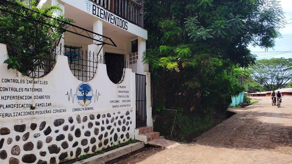 Clinica comunitaria de El Zonte