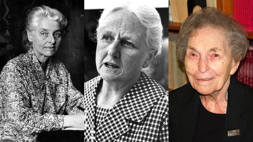 Beatrice Webb, Joan Robinson y Anna Schwartz