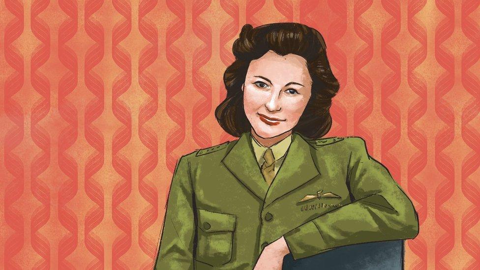An illustration of Nancy Wake, an Australian spy during WW2