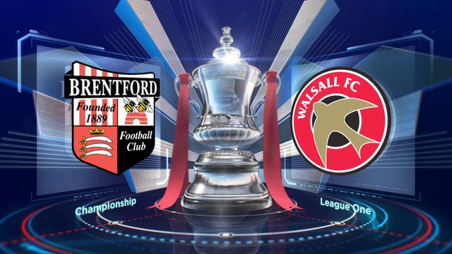 FA Cup: Brentford 0-1 Walsall highlights