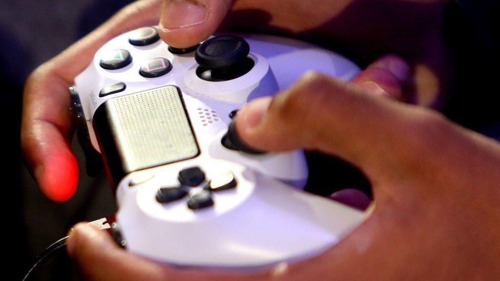 Control de una consola de videojuegos