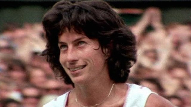 Virginia Wade - the last British woman to win a Grand Slam tennis title