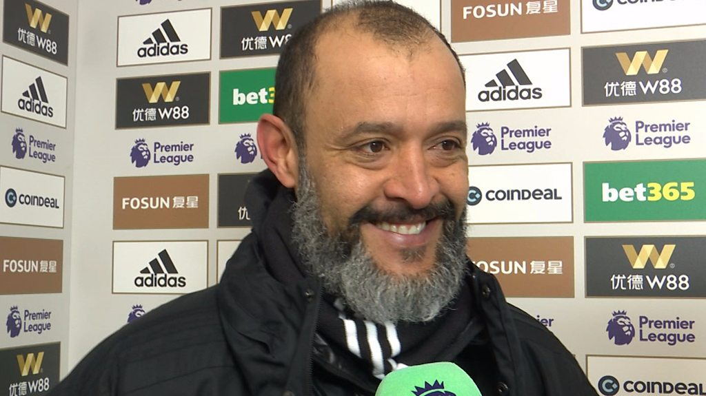 Wolves 4-3 Leicester: Nuno Espirito Santo delighted with dramatic win