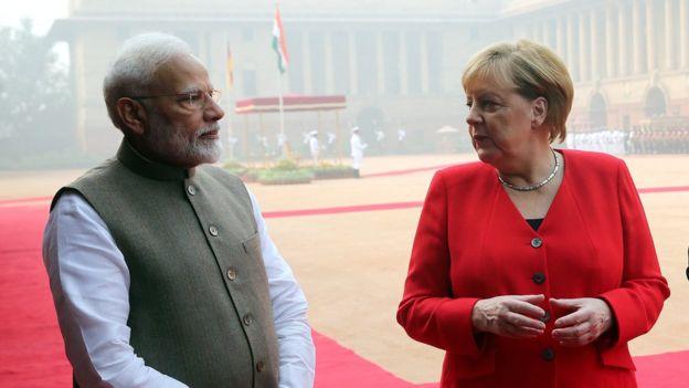 Modi ve Merkel