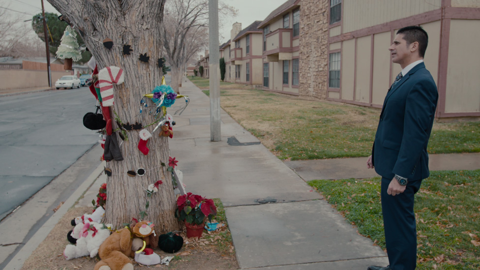 Árbol con recuerdos para Gabriel Fernandez cerca de su casa
