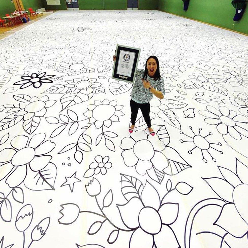 Johanna Basford and art work