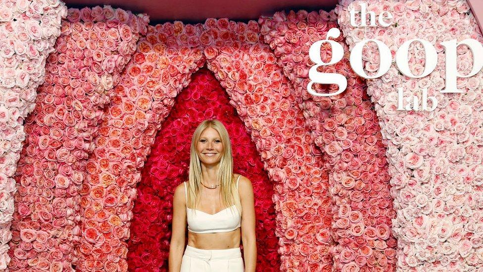 Gwyneth Paltrow durante la presentación de The Goop Lab