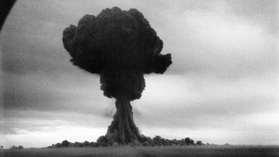 أول اختبار للقنبلة الذرية السوفيتية، أغسطس/آب 1949