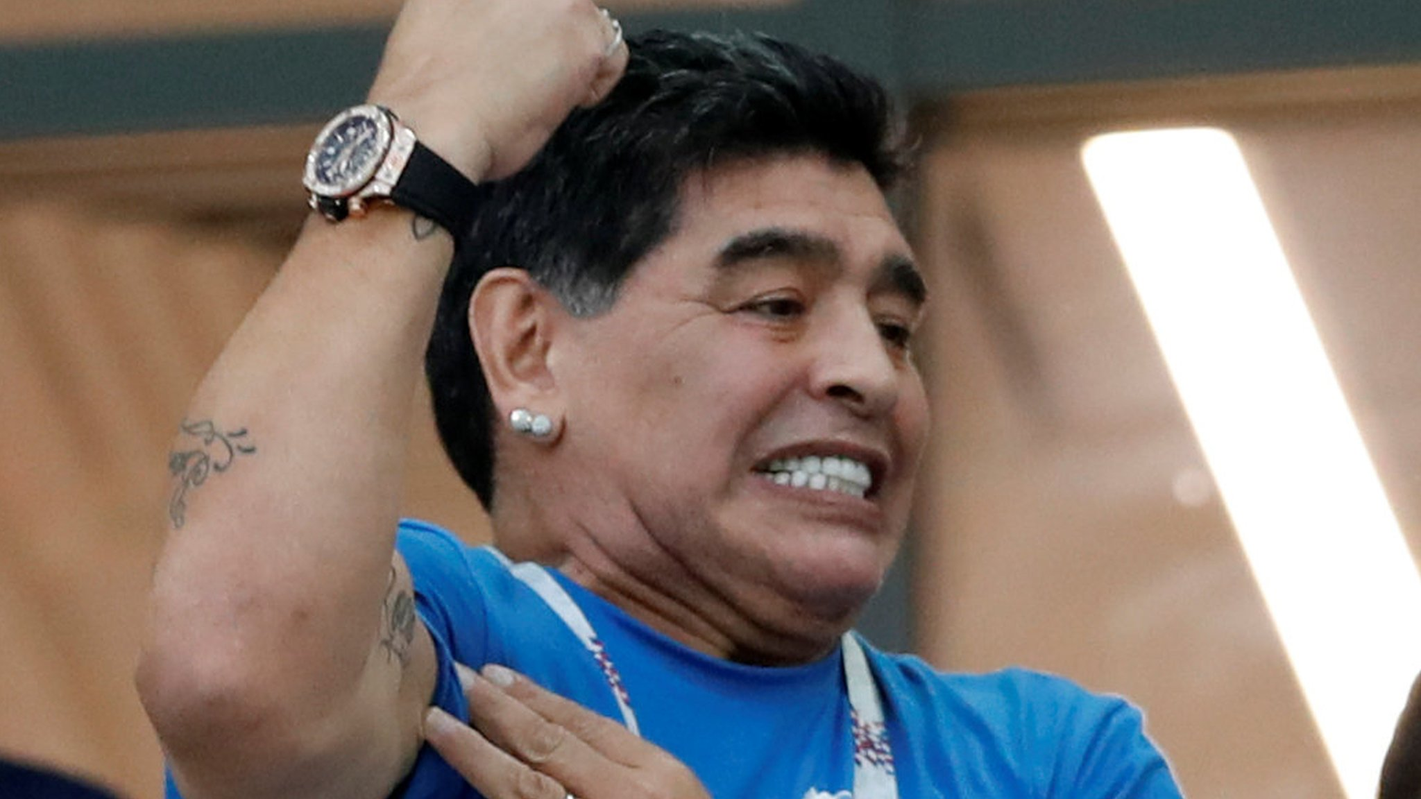 World Cup 2018: Diego Maradona wants to meet Argentina players after Croatia shock