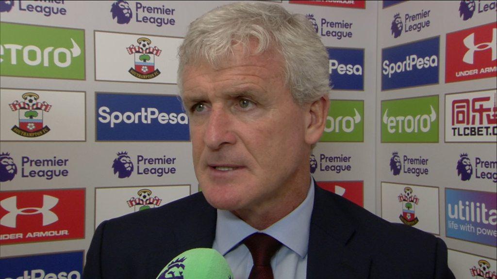 Southampton 0-0 Burnley: Mark Hughes encouraged by Saints display