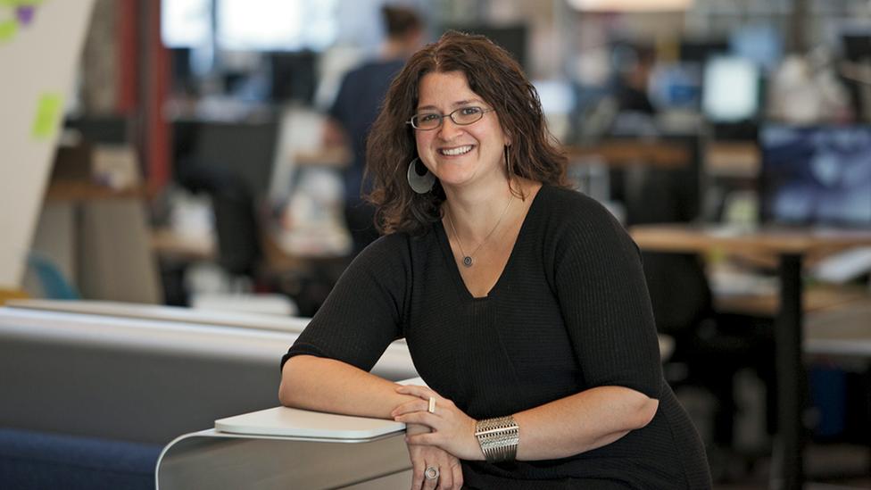 Sandy Speicher, directora ejecutiva de IDEO.