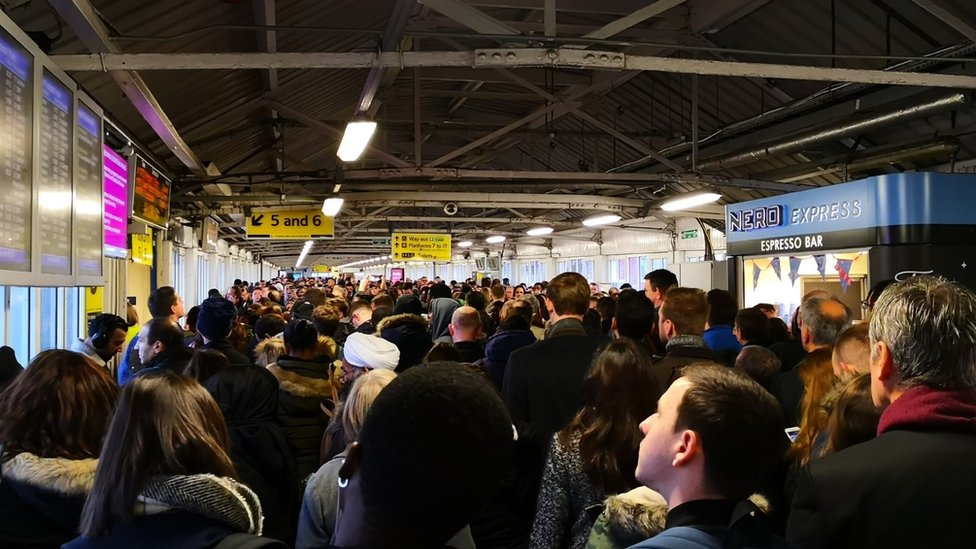 London Waterloo: South Western Railway delays as engineering works overrun