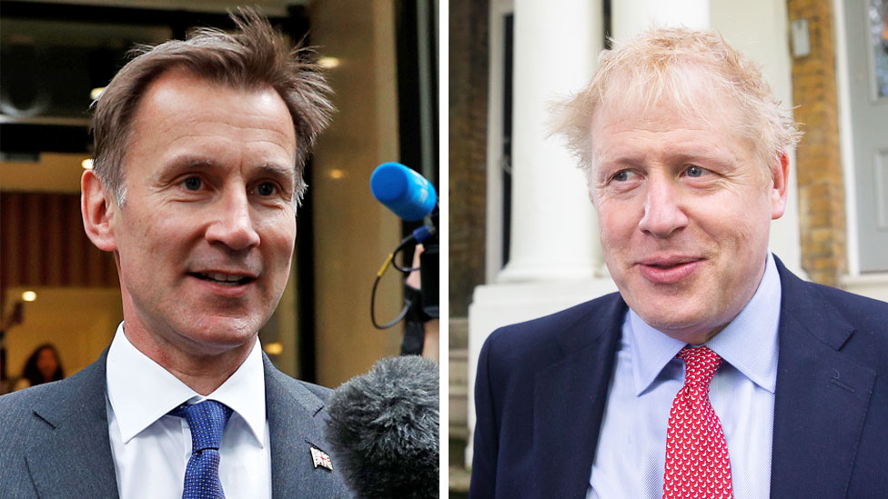Tory leadership race: Sky set to cancel Johnson-Hunt debate