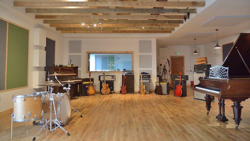 Rural Scots recording studio sector 'positive'