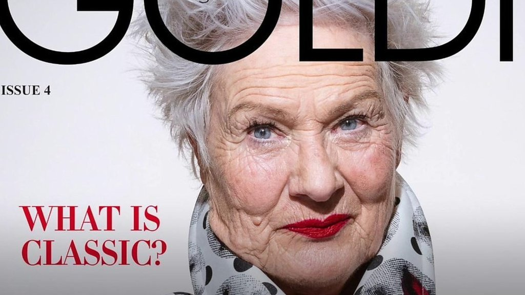 First-time cover star at the age of 80