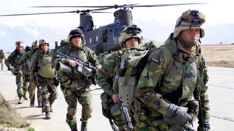 ABD askeri ilk olarak 2001'in sonunda Afganistan'a indi