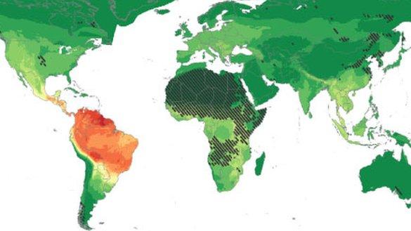 Danger map reveals health threat zone