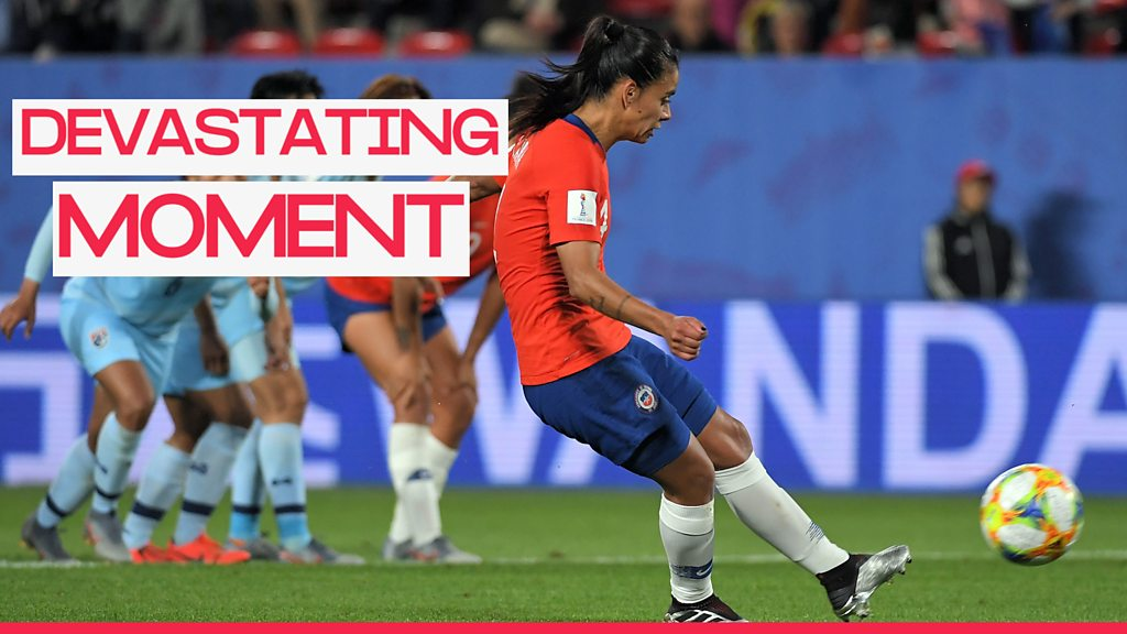 Women's World Cup 2019: Chile penalty miss costs them last-16 tie against England