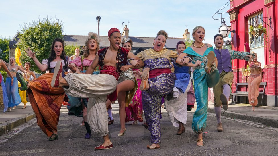 EastEnders goes Disney for Children in Need