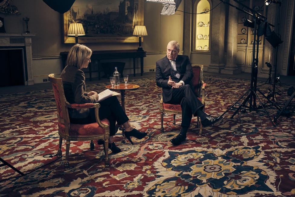 Fotografía de la entrevista.