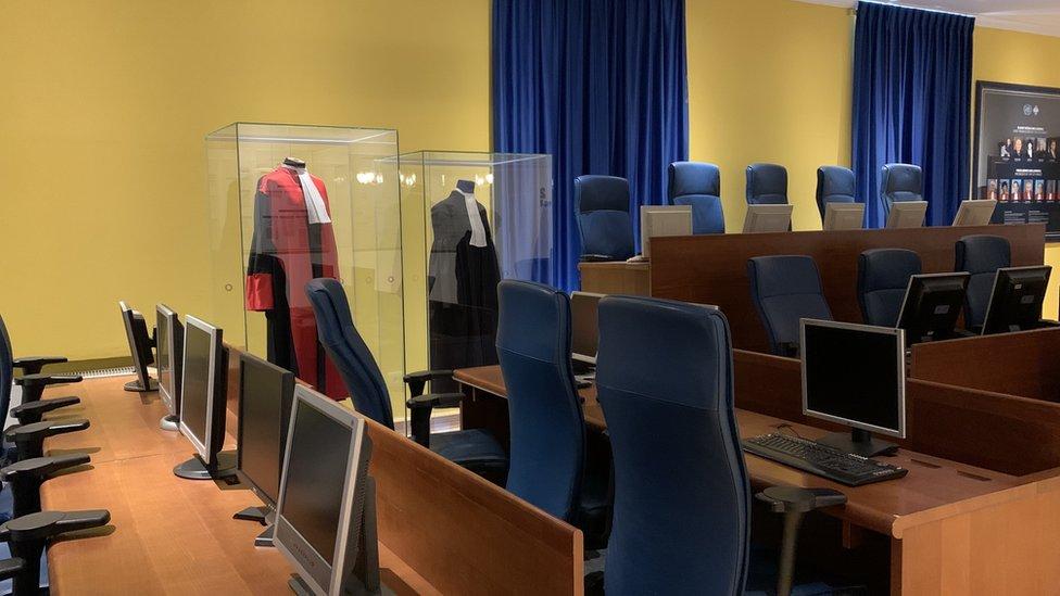 replika sudnice MKSJ nalazi se u muzeju u Sarajevu