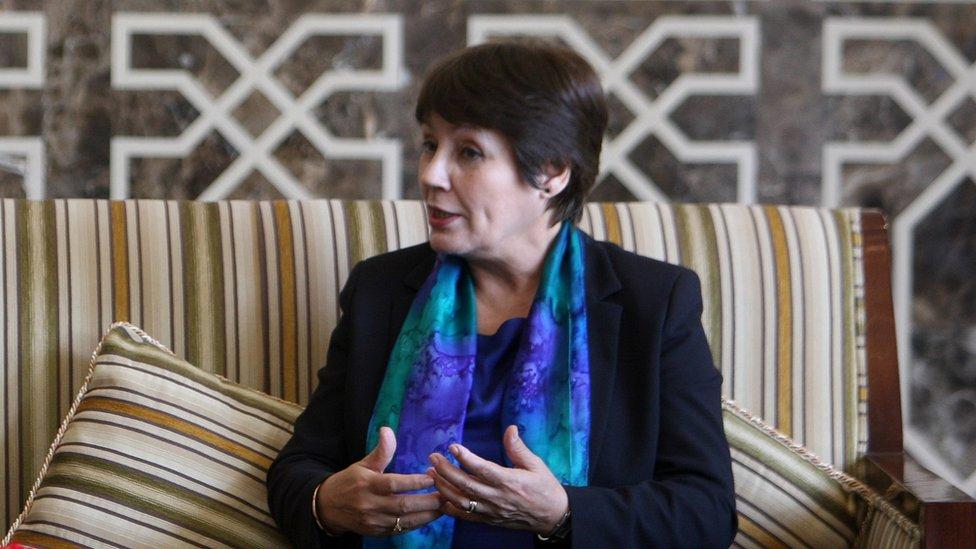Algerian Education Minister Nouria Benghabrit