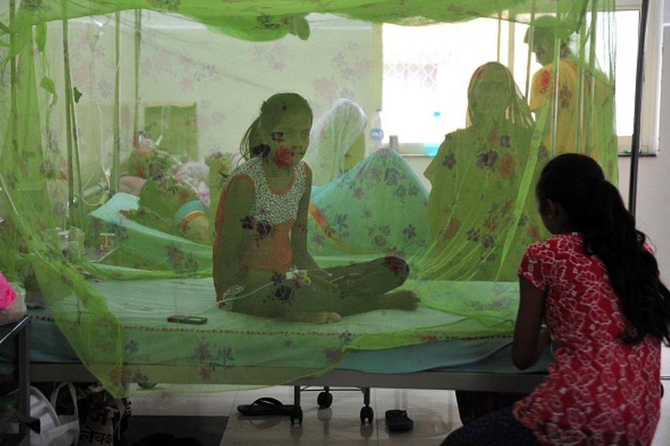 pacientes en India