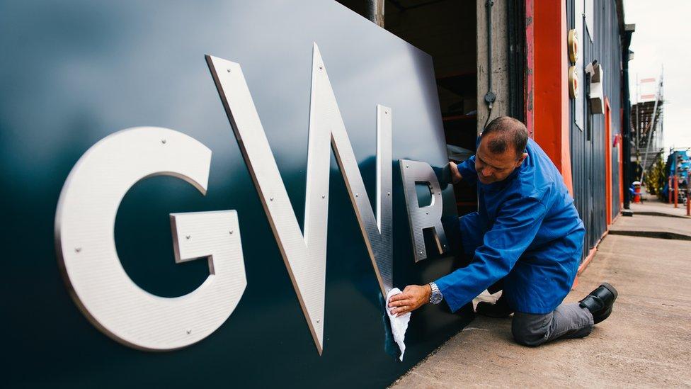 New GWR logo