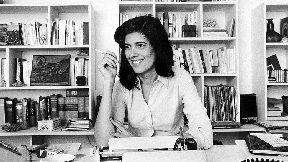 Susan Sontag en 1972.
