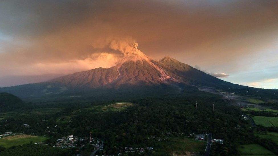 El Volcán de Fuego es uno de los más activos de América Latina.