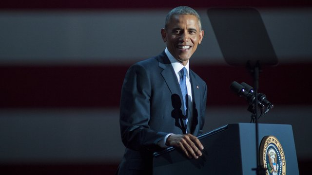 President of America Barak Obama