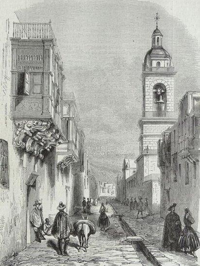 Lima a fines de 1839