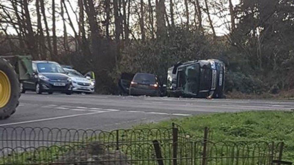 Принц Філіп потрапив в автомобільну аварію