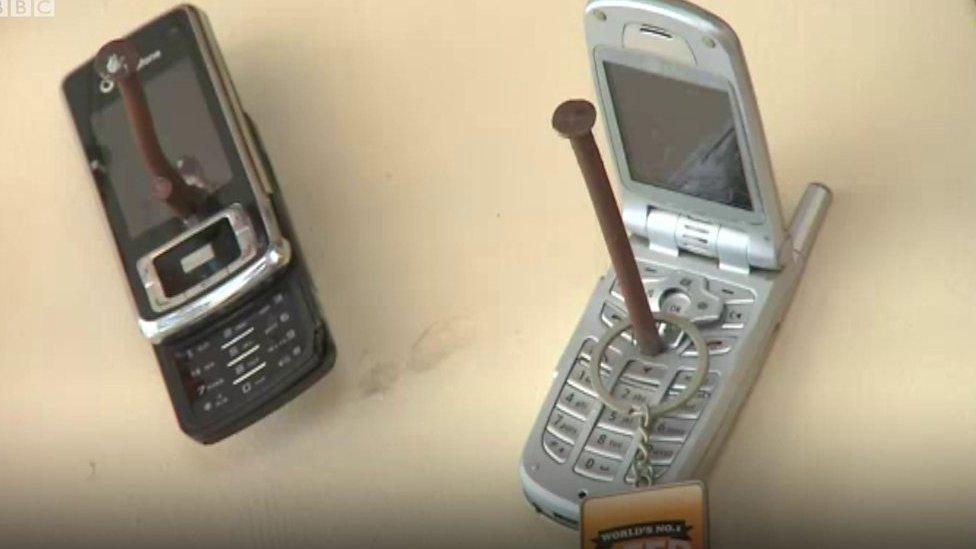 Pub fines mobile users