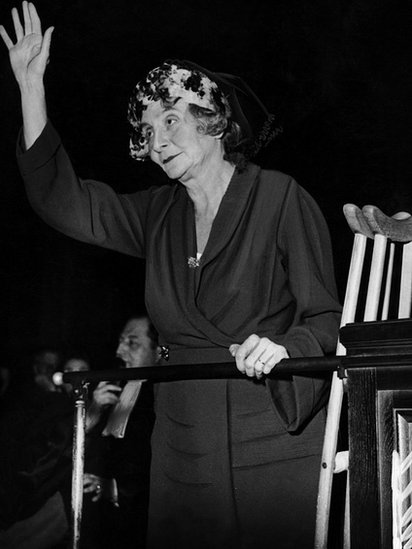 Marie Bonaparte en 1950