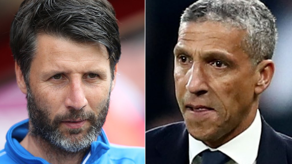 West Bromwich Albion: Danny Cowley & Chris Hughton under consideration to be head coach