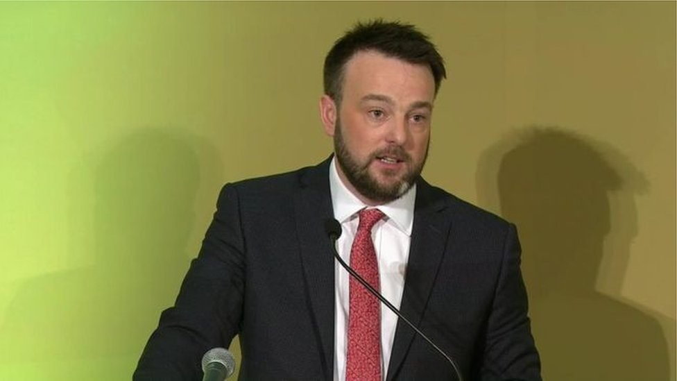 Colum Eastwood has been leader of the SDLP since 2015