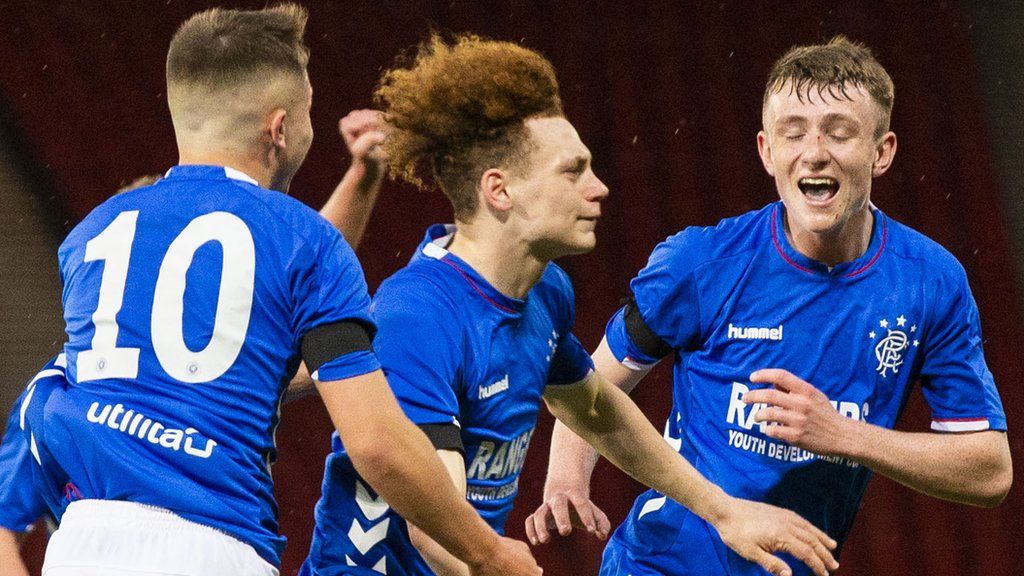 Rangers beat Celtic 3-2 in Scottish Youth Cup final thriller at Hampden