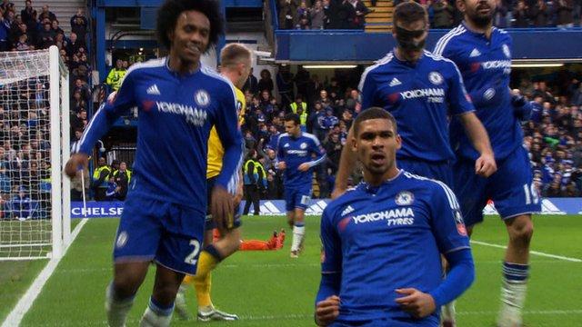Ruben Loftus-Cheek doubles Chelsea's lead against Scunthorpe