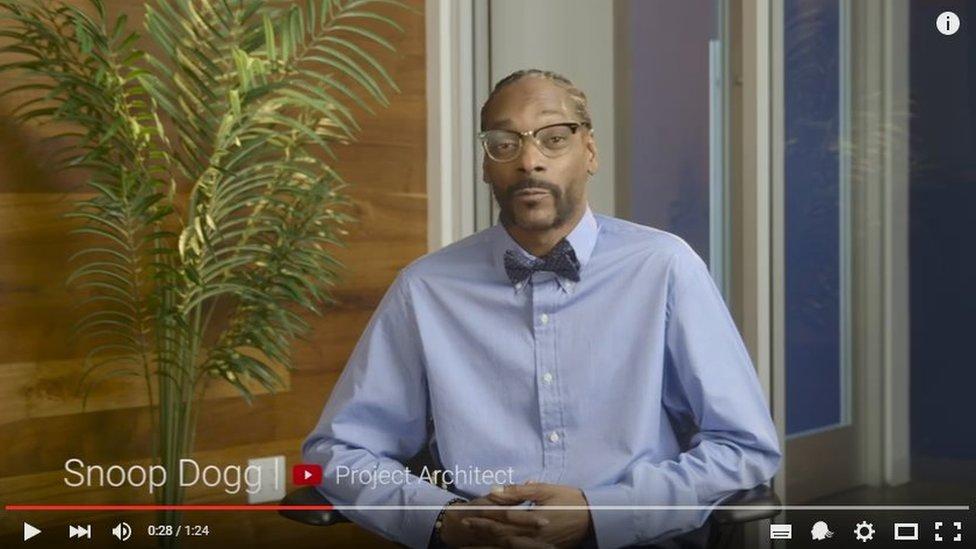 Snoop Dogg in April Fools joke for Snoopavision