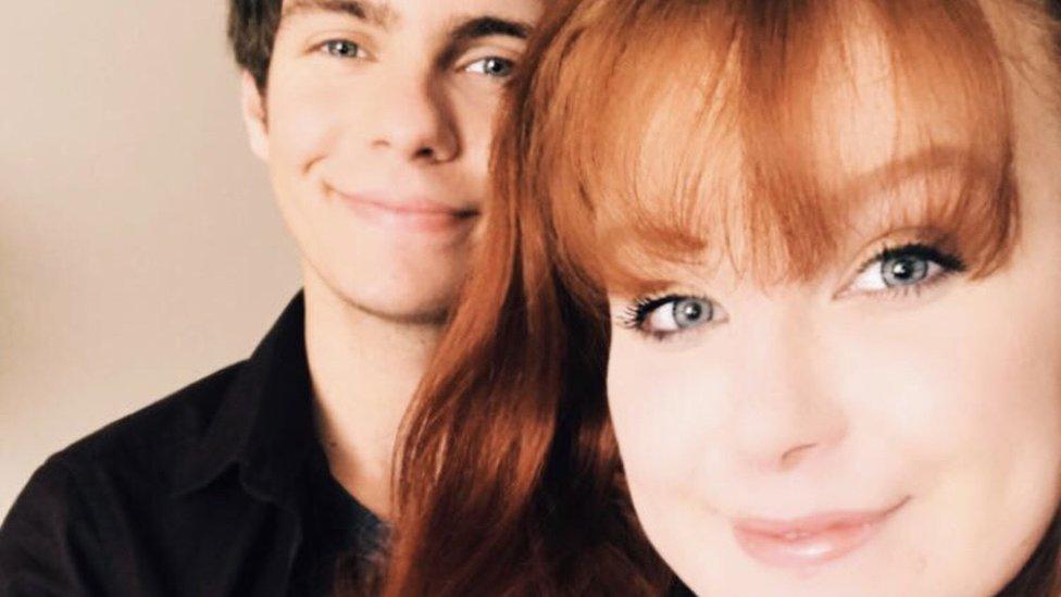 Matthew Griffin and Xiola Johnson