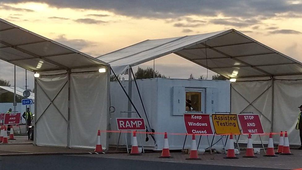 Testing centre, York
