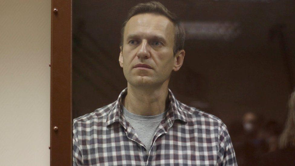 المعارض الروسي المسجون ، أليكسي نافالني