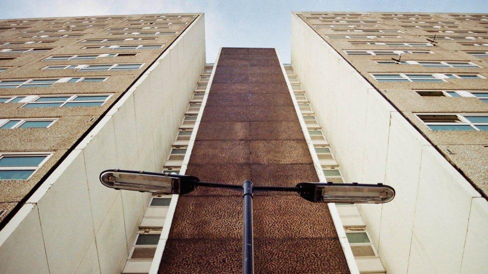 Shirley tower block