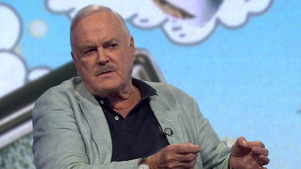Why John Cleese is leaving the UK for Nevis