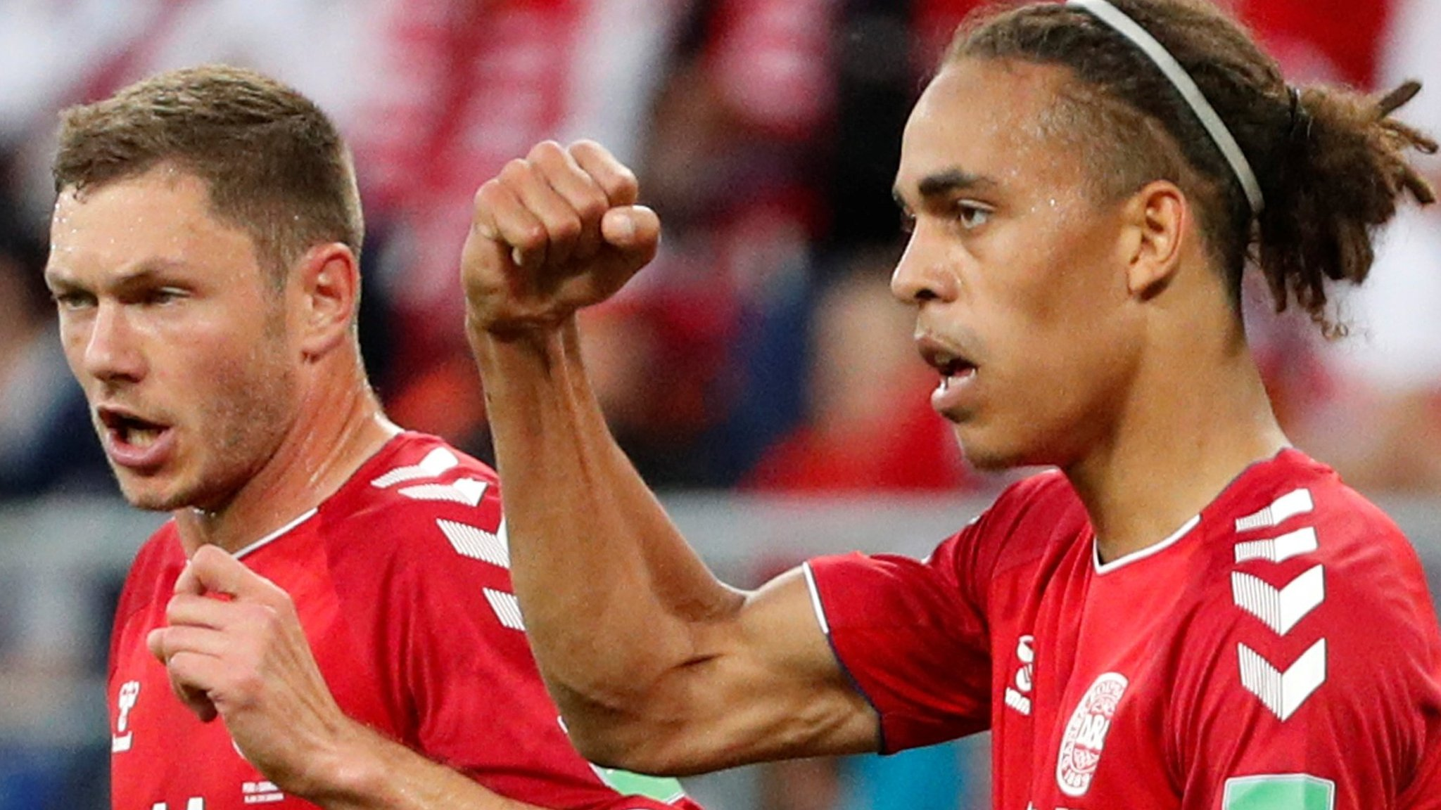 World Cup 2018: Denmark secure a hard-fought 1-0 win over Peru